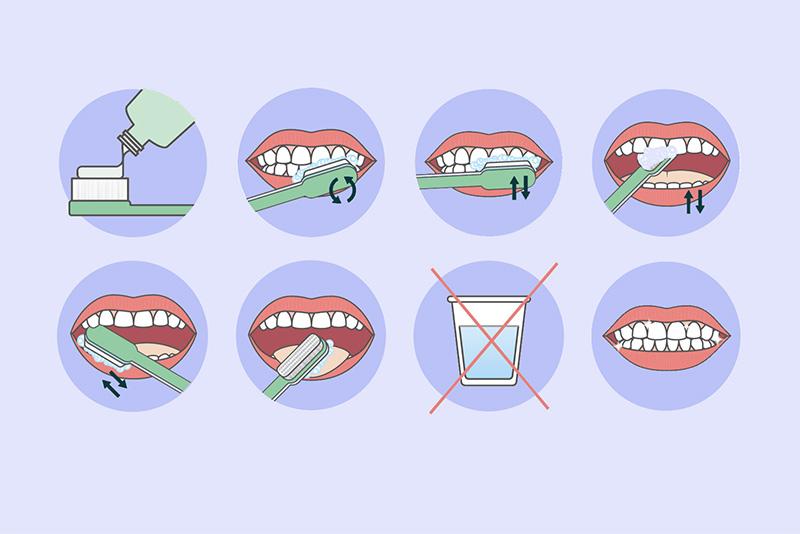 Visste du at det finnes en optimal måte å pusse tenner på? Vi lærer deg hvordan du skal pusse tenner for maksimal effekt som ivaretar din munnhelse